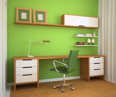 Green Paperless Office