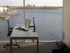 Paperless Office at the lake