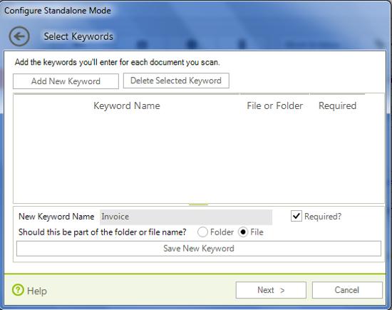 Forms inMotion Invoice Keyword