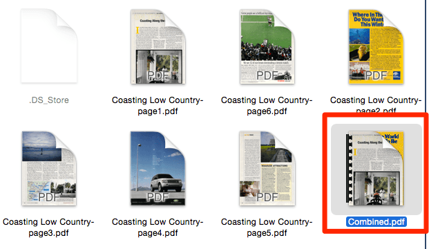Mac PDF Combined
