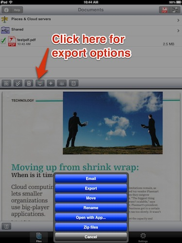 Export From Save2PDF