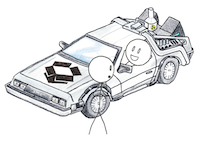 Dropbox DeLorean