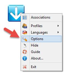 DropIt options