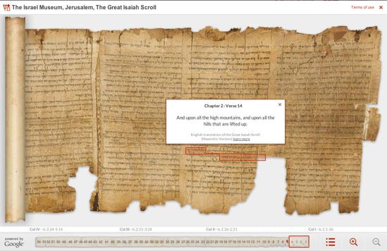 Great Isiah Scroll