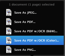 Doxie Save OCR