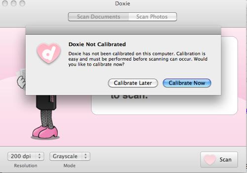 Doxie Calibrate
