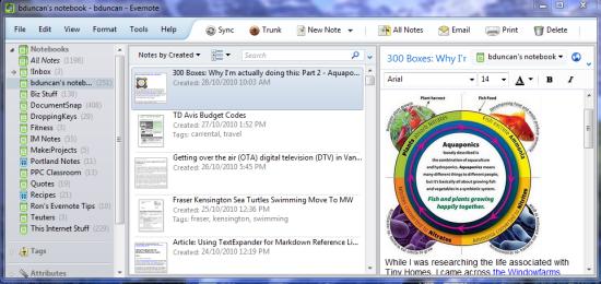 Evernote 4.0