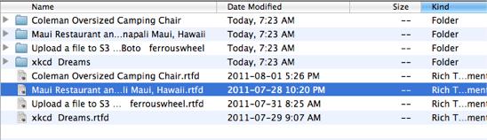 Export Folder