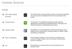 Evernote Context Article Sources