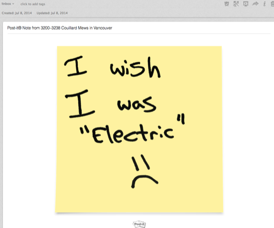 Evernote Normal Yellow Sticky
