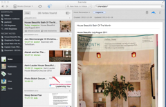 Evernote Shared Search