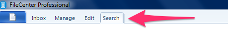 FileCenter Search Bar