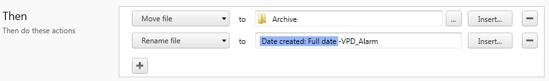 FileJuggler Actions