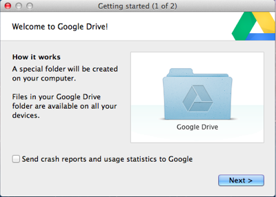 Google Drive Special Folder