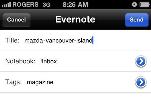 Genius Scan Export Evernote