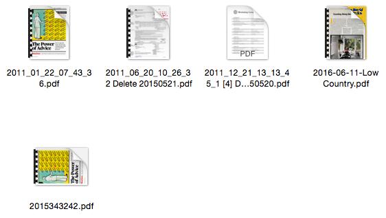 Files Before Hazel Rule