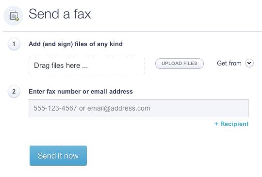 HelloFax Send