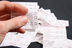 Holding Receipts