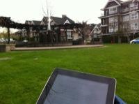 iPad Reading}