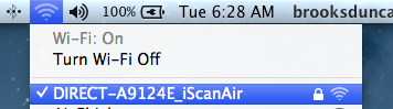iScan Air Wifi