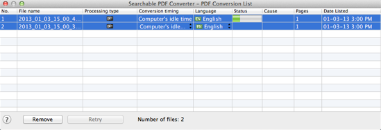Mac Searchable PDF Converter