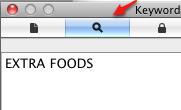 PDF with keywords