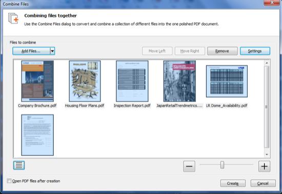 Nitro Visual File Combination