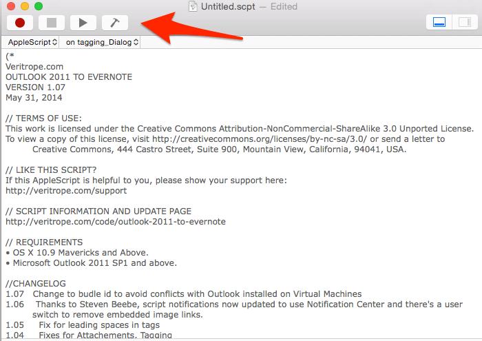 Outlook Mac Paste Script