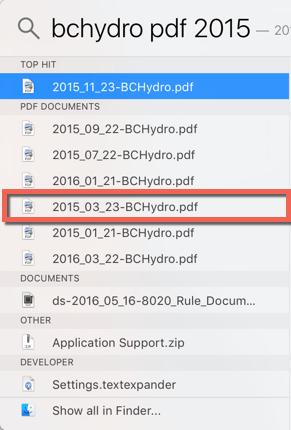 PDF Search 80-20 Rule