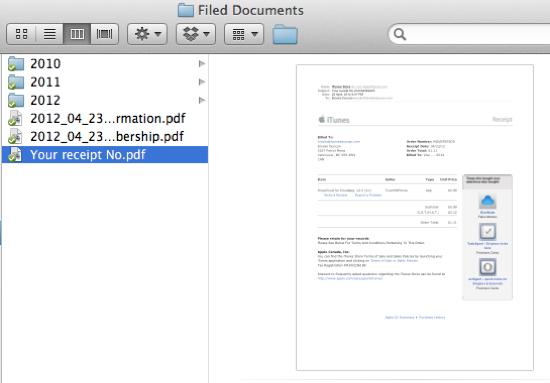 Printed File