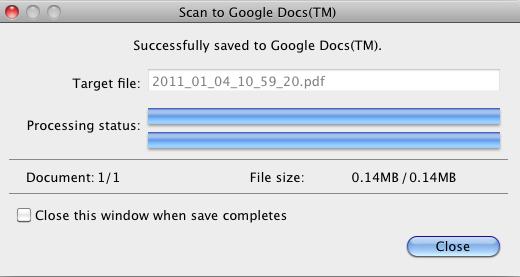 S1100 Google Docs