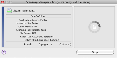 ScanSnap Scanning