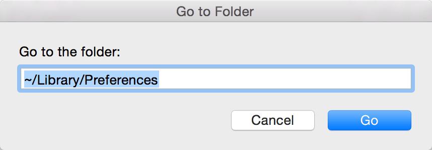 Finder Go Folder