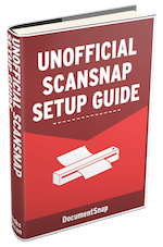 Unofficial ScanSnap Setup Guide