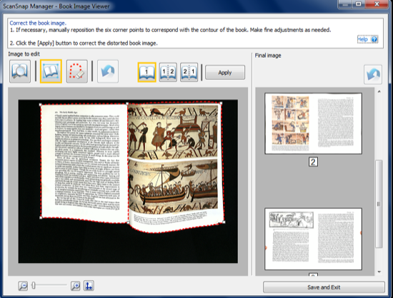 ScanSnap SV600 book viewer