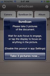 TurboScan SureScan