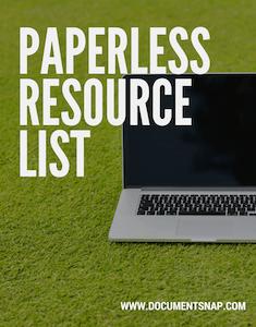 Paperless Resource List