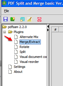 Merge and Extract PDF