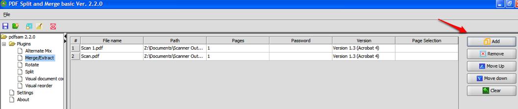 Add PDFs