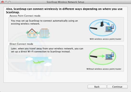 ScanSnap Wireless Setup
