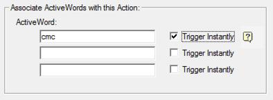 ActiveWords Date Script Trigger