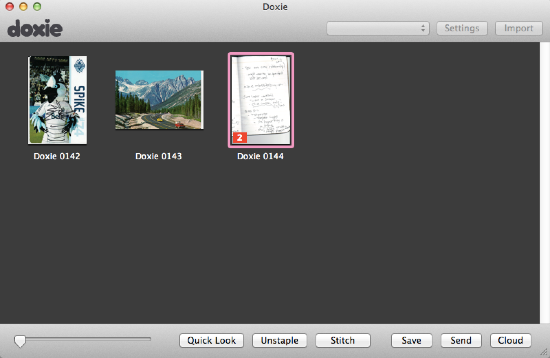 Doxie Flip Software