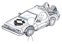 Dropbox DeLorean