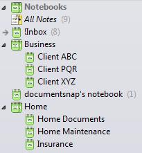 Evernote Stacks