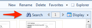 FileCenter Search Folder