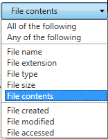 FileJuggler If Conditions