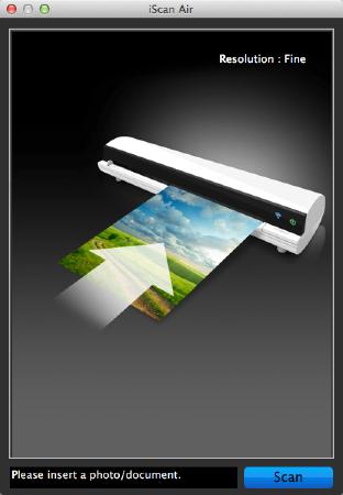 iScan Air Mac App