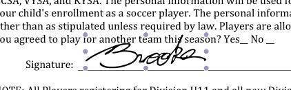 Signature On PDF