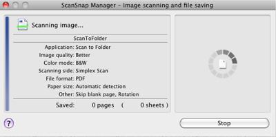 ScanSnap Scanning