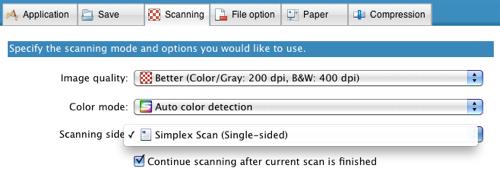 S1100 Scanning Tab